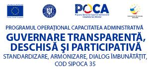 Guvernare participativă și transparentă